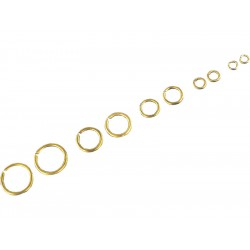 Krick kroužek mosaz 7mm (cca 100)