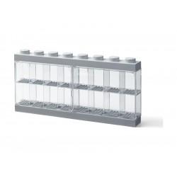 LEGO sběratelská skříňka velká - šedá
