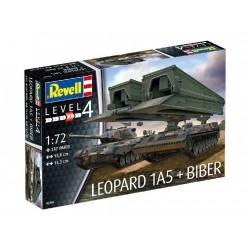 Plastic ModelKit tanky 03307 - Leopard 1A5 & Bridgelayer...
