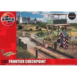 Airfix diorama Frontier Checkpoint (1:32)