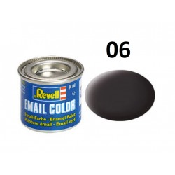 Barva Revell emailová - 32106: matná dehtově černá (tar mat)