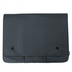 Baseus Basics laptop case for laptops up to 16'' (dark grey)