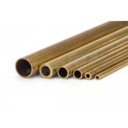 Mosazná trubička tvrdá 6.4x5.6x1000mm