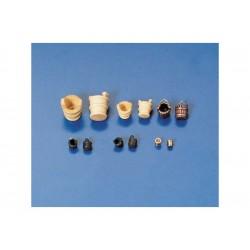 Krick Kbelík s uchem 8mm leštěný kov (10)