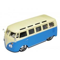 Bburago Plus Volkswagen Van Samba 1:32 modrá
