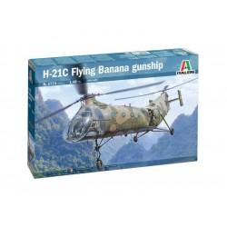 Italeri Piasecki H-21C Flying Banana GunShip (1:48)