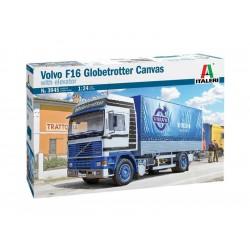 Italeri Volvo F16 Globetrotter Canvas (1:24)