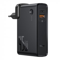 Baseus Power Station (GaN) 10000mAh 45W EU Black