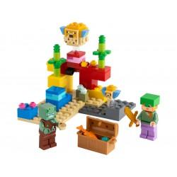 LEGO Minecraft - Korálový útes