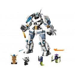 LEGO Ninjago - Zane a bitva s titánskými roboty