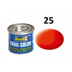 Barva Revell emailová - 32125: matná světle oranžová...
