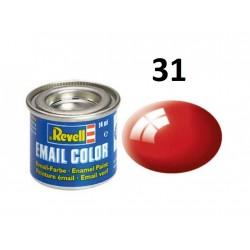 Barva Revell emailová - 32131: leská ohnivě rudá (fiery...