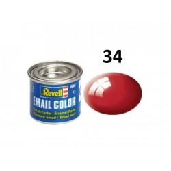Barva Revell emailová - 32134: lesklá ferrari červená...