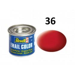 Barva Revell emailová - 32136: matná karmínová (carmine...