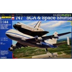 Revell Boeing 747 SCA & Space Shuttle (1:144)