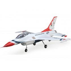 E-flite F-16 Thunderbirds 0.8m SAFE Select BNF Bas