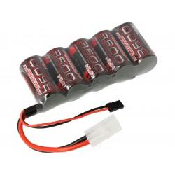 Robitronic NiMH baterie 6.0V 3600mAh plochá RX
