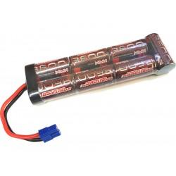 Robitronic NiMH baterie 8.4V 3600mAh plochá EC3