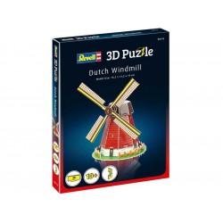 Revell 3D Puzzle - větrný mlýn