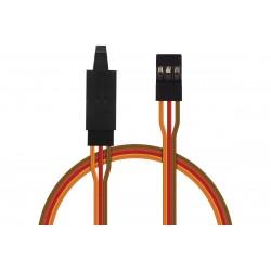 JR012 prodlužovací kabel 30cm JR s pojistkou (PVC)