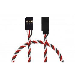 FU022 prodlužovací kabel kroucený 60cm Futaba (PVC)
