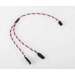 FU242 V-kabel kroucený 30cm Futaba (PVC)