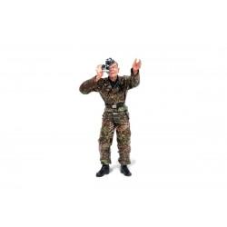 1/16 stojící figurka německého fotografa z 2 sv. války,...