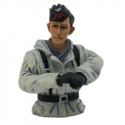 1/16 figurka německého velitele tanku, zimní kamufláž z 2...