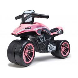 FALK - Dětské odrážedlo Moto Racing Team ride-on růžové
