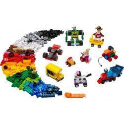 LEGO Classic - Kostky a kola