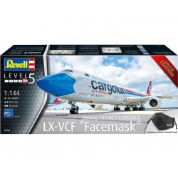 Revell Boeing 747-8F Cargolux LX-VCF Facemask (1:144)