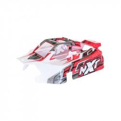 NXT GP 2.0 červená lakovaná lexanová karoserie