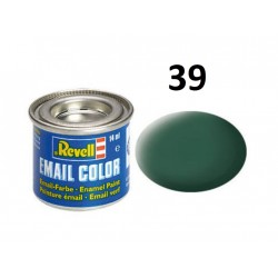 Barva Revell emailová - 32139: matná tmavě zelená (dark...