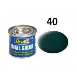 Barva Revell emailová - 32140: matná černozelená...