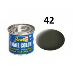 Barva Revell emailová - 32142: matná olivově žlutá (olive...