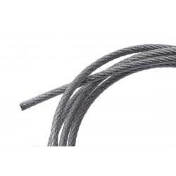 Nylon-ocelové lanko 2mm, délka 2.800mm