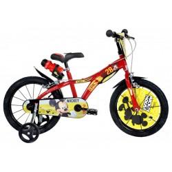 """DINO Bikes - Dětské kolo 16"""" Mickey Mouse"""