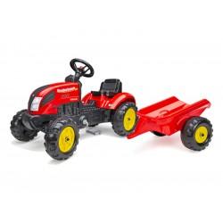 FALK - Šlapací traktor Country Farmer svlečkou