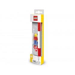 LEGO Gelové pero s minifigurkou červené