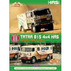 TATRA 815 4X4X HAS DAKAR 1996 2001