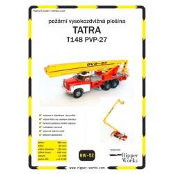 Vysokozvdižná plošina Tatra T148 PVP-27