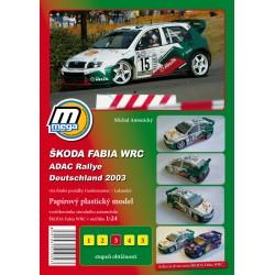 Škoda Fabia WRC ADAC Rallye 2003