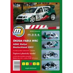 Škoda Fabia WRC 2003 s Interiérem
