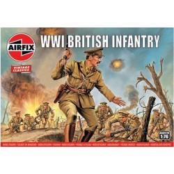 Airfix figurky - WW1 British Infantry (1:76) (Vintage)
