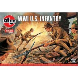 Airfix figurky - WW1 U.S Infantry (1:76) (Vintage)