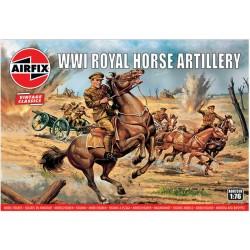 Airfix figurky - WW1 Royal Horse Artillery (1:76) (Vintage)