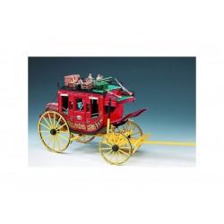 AMATI Poštovní kočár Wells Fargo 1:10 kit