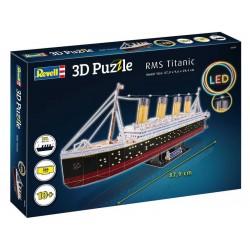 Revell 3D Puzzle - RMS Titanic s LED osvětlením
