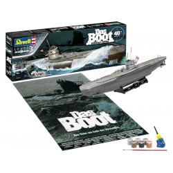 Revell U-96 Das Boot 40. výročí (1:144) (giftset)