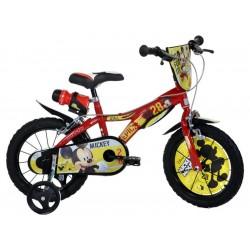 """DINO Bikes - Dětské kolo 14"""" Mickey Mouse"""